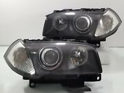Bmw X3 07 08 09 10 Headlamp Head Lamps Lights Assembly Xenon Hid 1 Pairs Oem Set