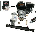 Log Splitter Kit With Loncin 20hp V Twin Engine Incl. Flowfit Auto Kickout Leve