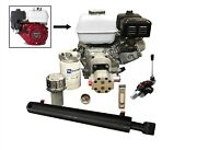 Log Splitter Kit With 9hp Engine, Incl. Auto Kickout Lever Valve. 10 Ton Force
