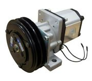 12v Electromagnetic Clutch And Pump Assembly