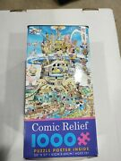 Puzzle 1000 Pc Comic Relief Tower Of Babel By Ceaco