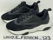 Christian Dior B22 Sneakers Black White 3m Us 14 Uk 13 47 Trainers Runners