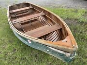 C 1950andrsquos Thompson Cartopper Sq. End Pulling Fishing Out Board Boat Rowing Row