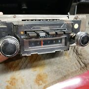 1970 Chevelle Factory Delco Stereo Eight 8-track Am Radio With Harness And Plug