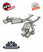 Afe Filters 49-34068-p Mach Force-xp Axle-back Exhaust System Fits 16-20 Camaro