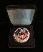 Dale Earnhardt 2001 American Silver Eagle One Ounce Colorized