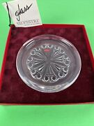 Baccarat Silvestri Hand Blown Glass Jewelry Tray Or Ashtray Rare France