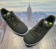 Nike Af1 Air Force 1 Crater Flyknit Black/chambray Blue Mens Size 14 Dc4831 001