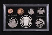 New Zealand 1979 Proof Coin Set With Coat Of Arms Silver Dollar 1