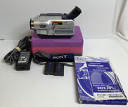 Sony Handycam Ccd-trv318 Hi-8 Analog Camcorder W/ Batterys And Charger Tested