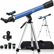 Telescopes For Kids Adults Astronomy Beginners 234x Magnification Travel Telesco