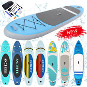 11and039 Ft Long Inflatable Stand Up Paddle Board Complete Set10and039 6and039and039 Thick Black Sup