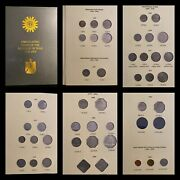 Iraq Coins Album 1959-2004 45 Coins 5 Dinars-10 Dinars Not Included