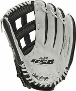 Rawlings Rsb Slowpitch Softball Glove Series Right Hand Throw | 13in |black/gray