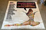 Casino Royale Original 6 Sheet Movie Poster - All Star Cast Hollywood Posters