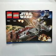 Lego Star Wars Republic Frigate 7964 - Instructions Manual Only 2 Books