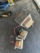 Vintage Packard-bell-single Ended El84 Stereo Tube Power Transformer And 2 Output