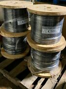 New 1/0 Awg Copper Thhn Black 1000and039 Reels Feet Building Wire 19 Strands 600v