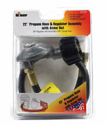 Mr. Heater F271161 Hose And Regulator Assembly 22 In. For Propane Bbq Gas Grill