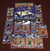 Wwf Jakks Pacific 1996 Superstars Complete Set Series 1 And 2 With Ring New. Rare