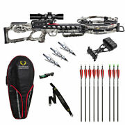 Tenpoint Vengent S440 Pro Package - Hawke Scope Lighted Arrows And More