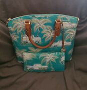 New With Tags Sold Out Brahmin Dream Copa Cabana Duxbury And Ady Wallet