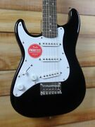 New Squier® Mini Stratocaster Left-handed Electric Guitar Black
