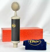 Blue Baby Bottle Condenser Microphone Made In Latvia Vintage Pre-owned Japan