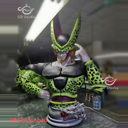 Dbz Dragon Ball Z Cell 1/1 Scale Bust Painted Statue Sd Studio In Stock Lifesize