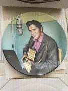Elvis Presley Looking At A Legend Plate 6 A Studio Session A Delphi Plate