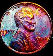 1936 D Lincoln Wheat Penny Cent- Beautiful Toning Superb Gem High Grade 06