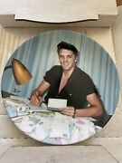 Elvis Presley Looking At A Legend 1991 Delphi Plate 14 Letters From Fans