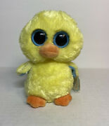 Ty Beanie Boos Goldie The Duck W/tag Retired Plush