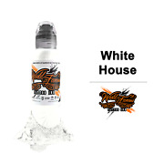 World Famous Tattoo Ink White House Color Pick Size Single Bottles Authentic Usa