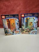Lego Harry Potter Hogwarts Moment Book Sets 76382 And 76383 New