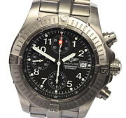 Breitling Chrono Avenger E13360 Date Black Dial Automatic Menand039s Watch_521412