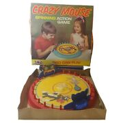 Vintage Crazy Mouse Wolverine 131 Gallery Action Game Tabletop Shooting Box Usa