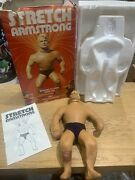 Stretch Armstrong Vintage Classic Collectors Denys Fisher Boxed Coffin Inserts