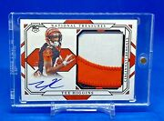 Tee Higgins 2020 National Treasures Rpa Rookie Patch Auto 3 Color 2/5 Rms-th