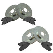 Disc Brake Kit Diy Solutions Bfs01828 Fits 05-10 Ford Mustang