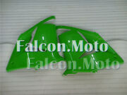New Green Injection Left Right Side Mid Fairing For 2004-2005 Kawasaki Zx10r Aaa