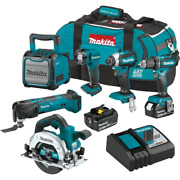 Power Tool Combo Kit 18v Lithium-ion Keyless Chuck Battery/charger Included