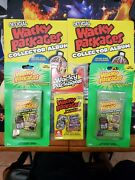 Official Wacky Packages Collectors Album And Sealed Packs.