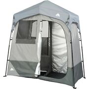 Ozark Trail 2-room Camping Instant Shower/utility Shelter Outdoor Privacy Tent