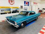 1963 Pontiac Catalina - 428 Engine - Tri Power - 4 Speed - See Video Pontiac Catalina Teal With 22155 Miles For Sale