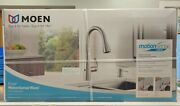 Moen Essie 87014ewsrs Touchless Stainless Kitchen Faucet W/motion Sense Wave