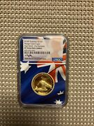 2018 Australian 1oz. Gold Wedge-tailed Eagle High Relief Ngc Pf70 First Release
