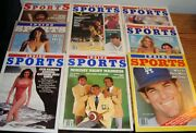 8 - Inside Sports Magazines Premier Issue Swimsuit Issue Garvey Magic + More