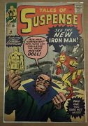 Tales Of Suspense 48 Vg 1st Yellow And Red Iron Man Costume