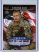 2008 Topps Armed Forces Fans Of The Game Affgb Sen. Airman Gabriel Bird